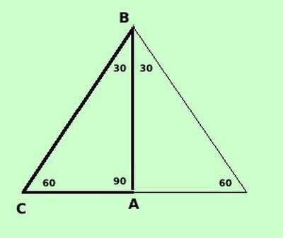 triangolo306090