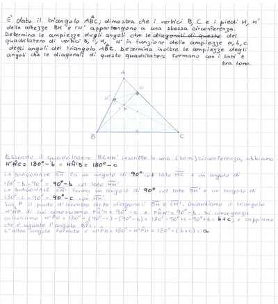 dimostrazione geometria