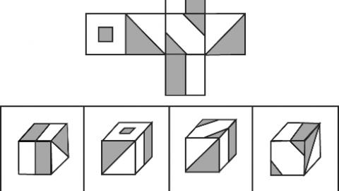 Test logico-matematico: Il cubo